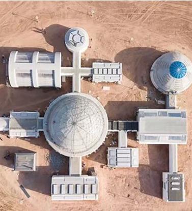 甘肃省唯一一个火星模拟生存基地亮相金昌