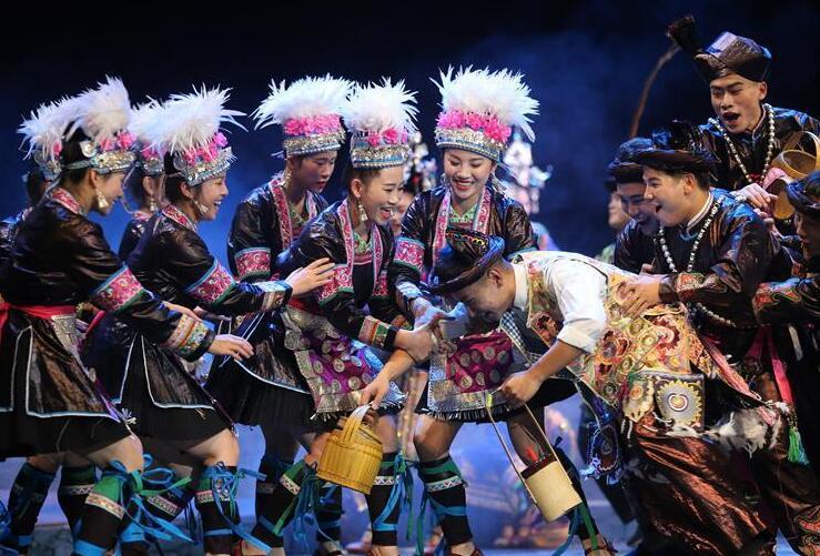 侗族音乐剧《千年大歌》在贵阳上演
