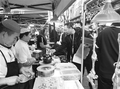 """""""兰州味道""""民族精品小吃展在南关民族风味夜市开幕"""