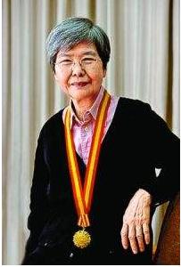 樊锦诗获中国文保基金颁发