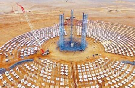 国家首批光热发电示范项目落地甘肃玉门4个