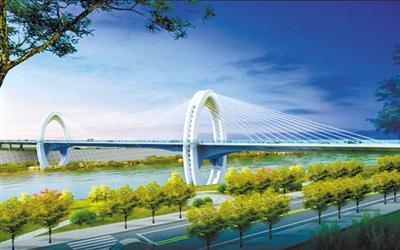 美翻了!兰州什川黄河大桥效果图露真容