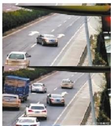 兰州:高速公路上倒车 这司机胆子真大