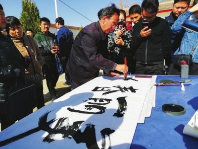 甘肃省扶贫办携手佛慈集团在东乡开展捐赠帮扶活动