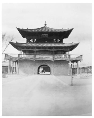 兰州故事丨落后与变革交织,1910年莫理循镜头下的甘肃贡院