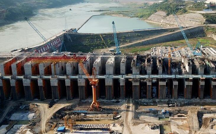大藤峡水利枢纽工程建设正酣