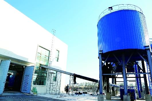 酒泉肃州区第一、第二污水厂污泥设备已完成联动调试(图)