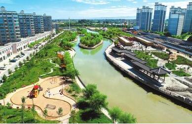 临泽县大力开展美丽乡村建设