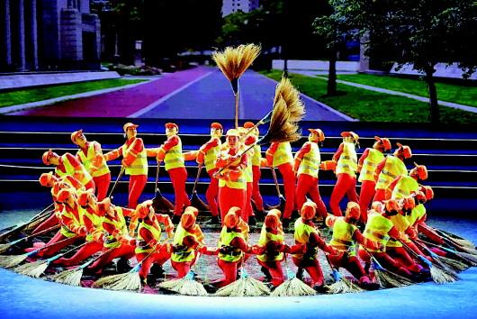 酒泉肃州区广场舞者全国舞台展风采(图)