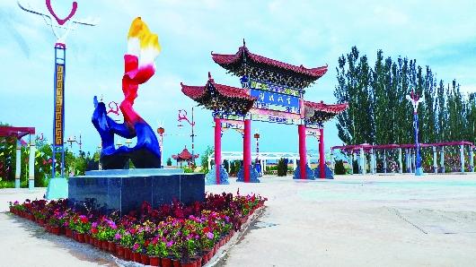 """酒泉:农旅""""联姻""""搅动乡村""""一池水""""(图)"""