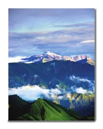 祁连山一座储存记忆的宝塔