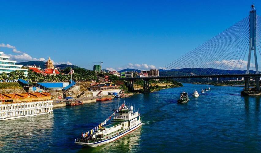 """澜沧江-湄公河:昔日""""地府"""",今日""""黄金道"""""""