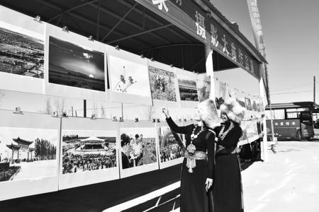 """酒泉肃州区""""裕固金秋""""民族文化艺术节开幕(图)"""