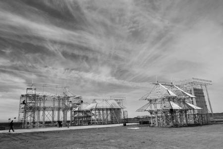 大型户外主题雕塑《无界》将在酒泉瓜州落成(图)