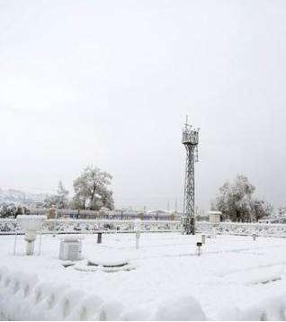 近期甘肃省出现降水降温天气 最大积雪深度15厘米