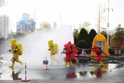 龙虎和省各地119消防宣传月运动片面启动