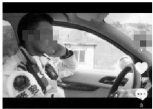 未系安全带开车被曝光 兰州交警部门:涉事辅警已受到处罚