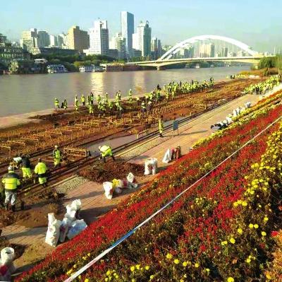 兰州黄河风情线全面完成清淤 清理淤泥43403.66立方米、垃圾235.85吨