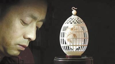 """""""河州蛋雕第一人""""杨星国:一颗网红蛋孵化出的""""蛋雕梦"""""""