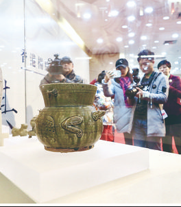 甘肃省博物馆获捐珍贵陶瓷器文物