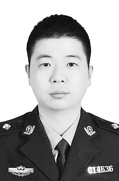 兰州城关公安分局民警谢江涛因公牺牲