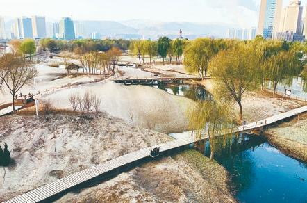 兰州黄河风情线沿线公园恢复开放