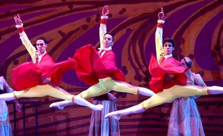 古巴芭蕾舞剧《堂·吉诃德》压轴艺术节