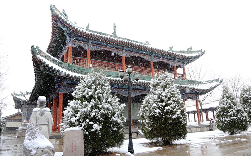 雪落国学馆