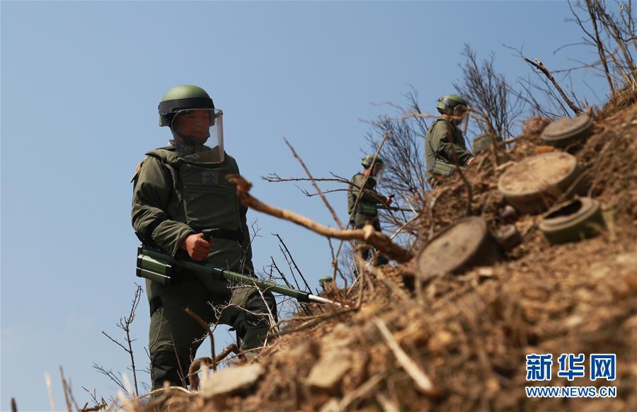 (图文互动)(2)和平年代,离死神最近的人——南部战区陆军云南扫雷大队边境扫雷排爆记事