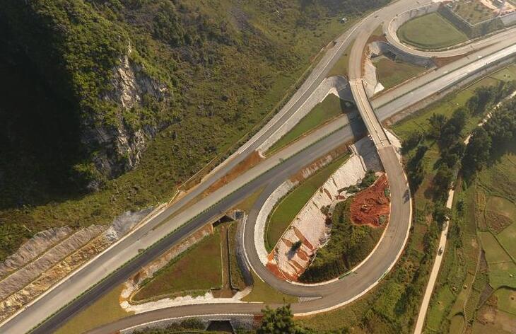 中越疆域靖西至龙邦高速公路估计年末通车