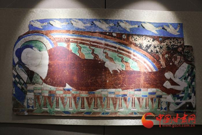 海外克孜尔石窟壁画及洞窟复原影像展在兰州大学榆中校区开幕(组图)