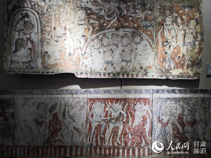 海外克孜尔石窟壁画及洞窟复原影像展在兰州大学开展【2】