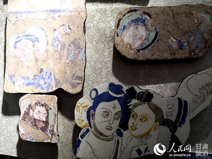 海外克孜尔石窟壁画及洞窟复原影像展在兰州大学开展【3】