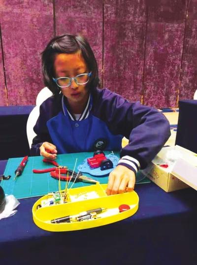 全国青少年电子制作巡回赛在昆明举行 雁北路小学代表甘肃出战收获颇丰