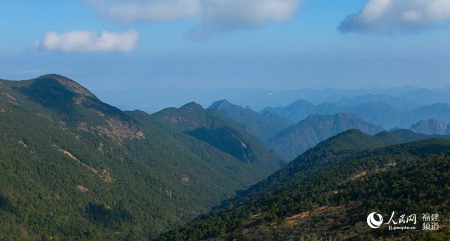武夷山国家公园。焦艳 摄