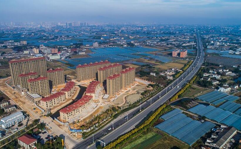 """""""中国第一座农民城""""温州龙港正向现代化新生城市跨越"""