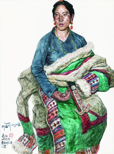 心远之真——吴长江的人物绘画