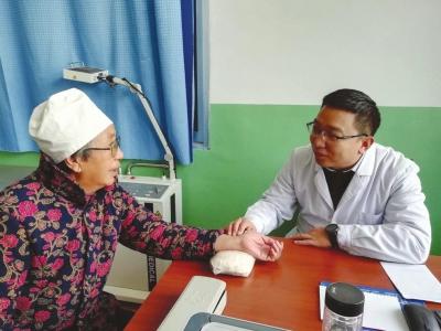 背起医药箱城里医生进山村——意彩龙虎和市第一人民医院医师汤志刚的卫生扶贫路