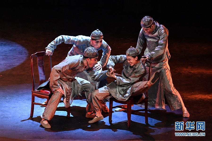 (国际)(4)中国东方歌舞团大型舞蹈《国色》亮相智利