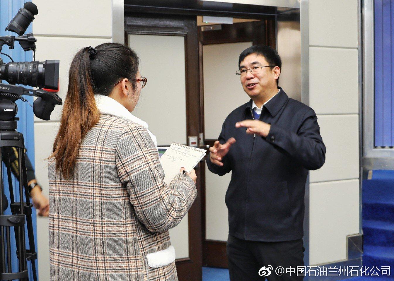 兰州石化总经理李家民在兰州大学进行专题讲座