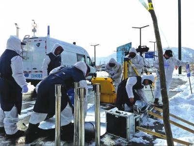 兰州市开展辐射事故应急演练