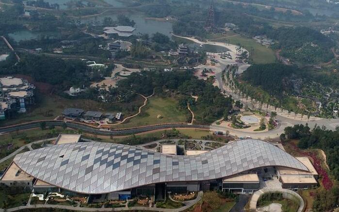 第十二届中国(南宁)国际园林博览会开幕