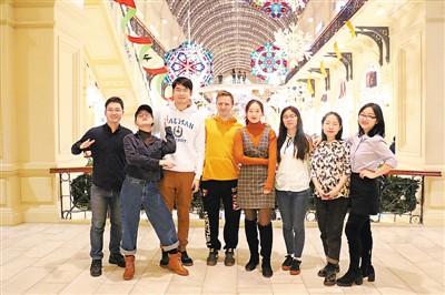 在俄罗斯展示 积极向上的中国青年形象