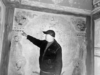 历时3年 师生1:1复原莫高窟第3窟 复制洞窟现保存于甘肃政法学院艺术学院展厅