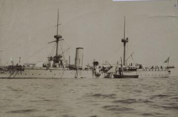 甲午海战致远舰设计图在英重见天日