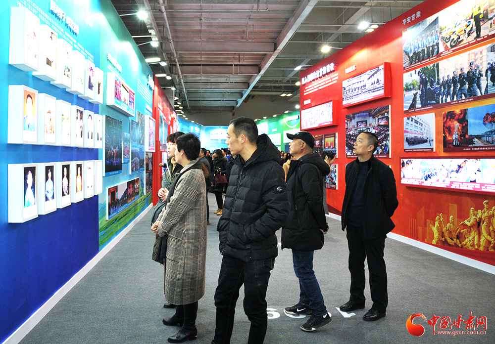 甘肃省庆祝改革开放40周年图片展今日开展(组图)