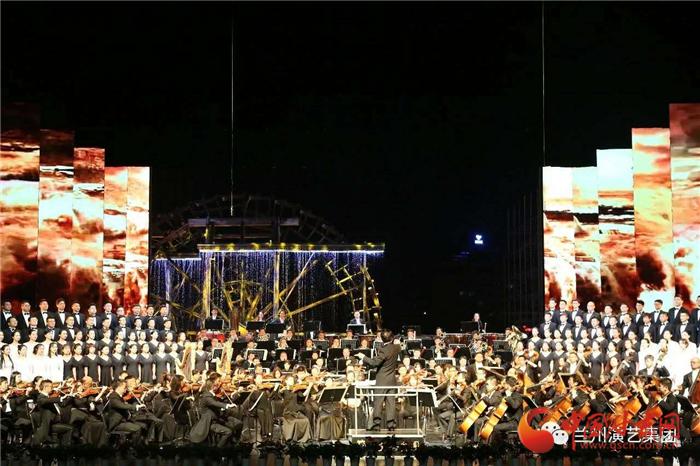 【改革开放40年】创意兰州 这方舞台有全国最棒的《黄河大合唱》(组图)