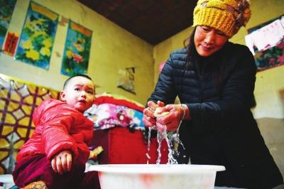 庄浪提升农村饮水安全