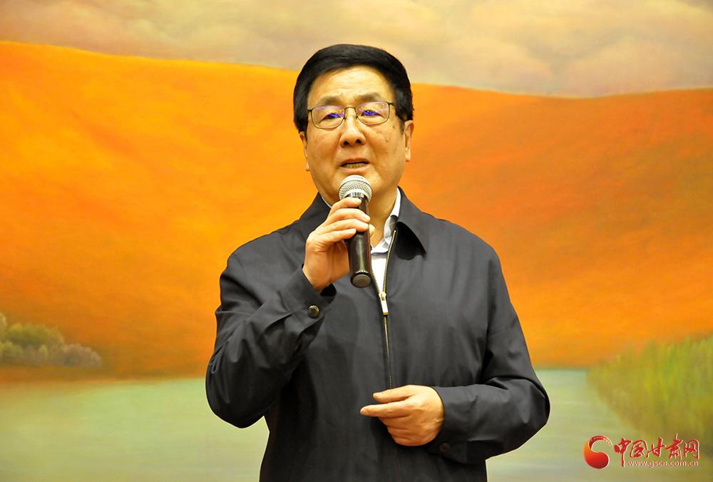 著名画家吴东魁先生甘肃捐赠助学仪式在兰举行 林铎出席(图)