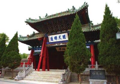 天水伏羲庙大景区将建游客服务中心